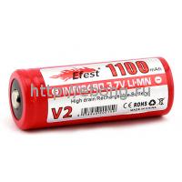 Аккумулятор 18490 1100 mAh Efest незащищенный