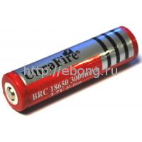 Аккумулятор 18650 3000 mAh Ultrafire 3.7V с защитой