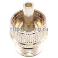 510 Коннектор атомайзера серебряный