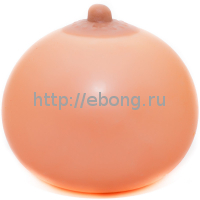 Антистресс Boobs Грудь d=8,5 см (Squeezable Mimi Ball) Очень мягкий 250 гр