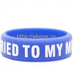 Вейп-бенд Silicone Ring Синий силикон