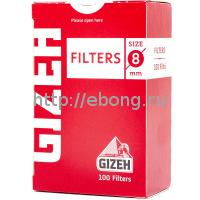 Фильтры для самокруток GIZEH Обычные 8 мм 100 шт