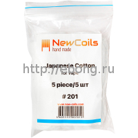 Вата New Coils Japanese Cotton #201 5шт