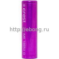 Аккумулятор 18650 Efest V1 2600mAh 25A/40A