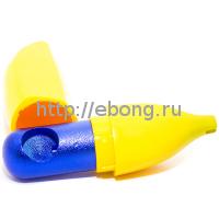 Трубка метал Банан L=9 см XP115