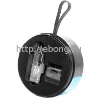Бакомайзер Voluna V2 RTA 25mm 3.2 мл Черный Asmodus