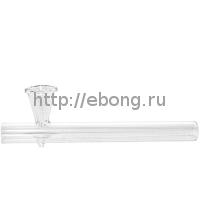 Трубка стекло KG 4285-15 Прозрачное стекло 15 см