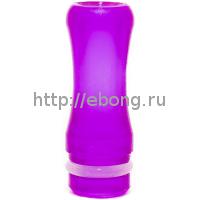 Дрип тип Дельярин Классический Фиолетовый (drip tip 510) PLA07