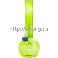 Бонг KG 4262 Green Rasta Цветное стекло 16 см