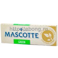 Бумага сигаретная MASCOTTE Green Organic 50 лист.