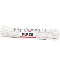Ершик для трубок I Love Pipes 16 см Белые (поштучно)