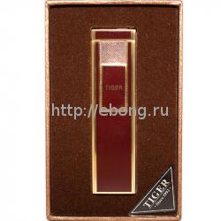 Зажигалка Tiger USB Коричневая