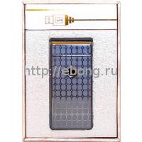Зажигалка Электронная miniUSB Jin Lun JL 301 Черная