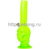Бонг силикон Skull Glow In The Dark BN151G
