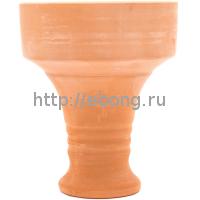 Чашка для табака глиняная шлифованная XXL 106