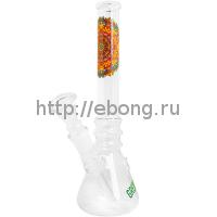 Бонг стекло Greenline Mandala h=210мм d=22мм LG13