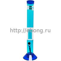 Бонг Акрил Blue Cane Bud Boy h=43 см 03053B