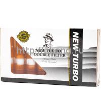 Мундштук-фильтры для сигарет Medwakh Turbo Tip Brown 6 шт