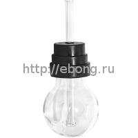 Трубка стекло Груша (ВАПОРАЙЗЕР) L=23см d=7см Top Vapor 53-18-01