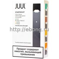 JUUL Kit Графит Набор с картриджами Mango, Classic Tobacco, Vanilla, Mint 0.7 мл