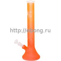 Бонг стекло Пирамида Neon h=400 мм 251812-38