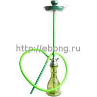 Кальян MYA Nefertiti Колба зеленое стекло S596119 С h=75 см