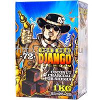 Уголь для кальяна CocoDjango Premium 1 кг 72 куб