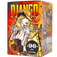 Уголь для кальяна CocoDjango Premium 96 куб (24*4)