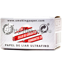 Бумага сигаретная Smoking Rolls Master рулон 4м