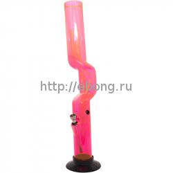 Бонг Акрил HN h=32 см Изогнутый