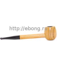 Трубка дерево Mini Wooden L=15см SM075