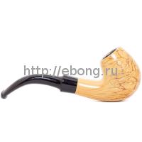 Трубка Chungfeng L=13 см Дерево с узором BD61C