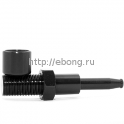 Трубка метал Bolt Black L=7 см 19808