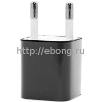 Сетевой адаптер 220V -> USB 1000 mA черный Medium 3G