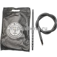 Шланг MIAMI Shisha 104 Черный L=190 см силиконовый