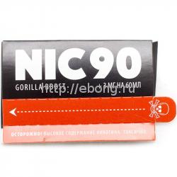 Усилитель крепости NIC90 GorillaBoost 1мл 183мг/мг