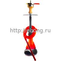 Кальян Amy Deluxe 4-Star 450 (psmbk-rd) Колба Красная Шахта Черная h=53 см