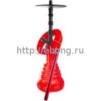 Кальян Amy Deluxe 4-Star 460 (psmbk-rd) Колба Красная Шахта Черная h=51 см