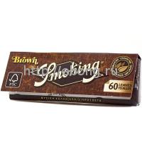 Бумага сигаретная Smoking Brown 60 листов