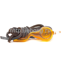 Трубка стекло с подвесом Amber L=6 см 601800-45