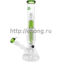 Бонг стекло Grace Glass h=340мм d=45мм G222BL