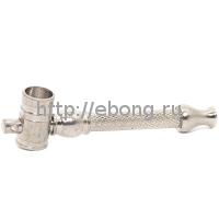 Трубка метал Брелок Чилимчик 6.5 см
