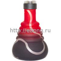 Колба Amy Deluxe 450 glass-psmbk-rd Красная h=22 см