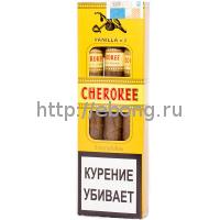 Сигариллы CHEROKEE Vanilla N3 (Ваниль) пачка 3 шт