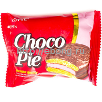 Печенье Lotte ChocoPie Strawberry