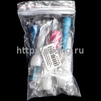 Мундштуки для кальяна Разноцветный Внутренний 10шт (цена за упаковку 10 штук)
