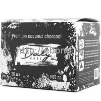 Уголь для кальяна Daly Code 36 куб 500 гр 25*25*25 (Индонезия)