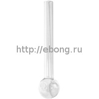 Трубка стекло для масла L=10 см 161805