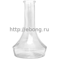Колба АНС Стекло Прозрачная h=27 см 02-002