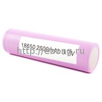 Аккумулятор 18650 2600 mAh Samsung незащищенный